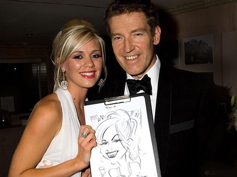 Caricaturistas para bodas